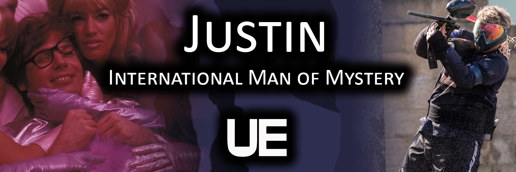 Justin - International Man of Mystery