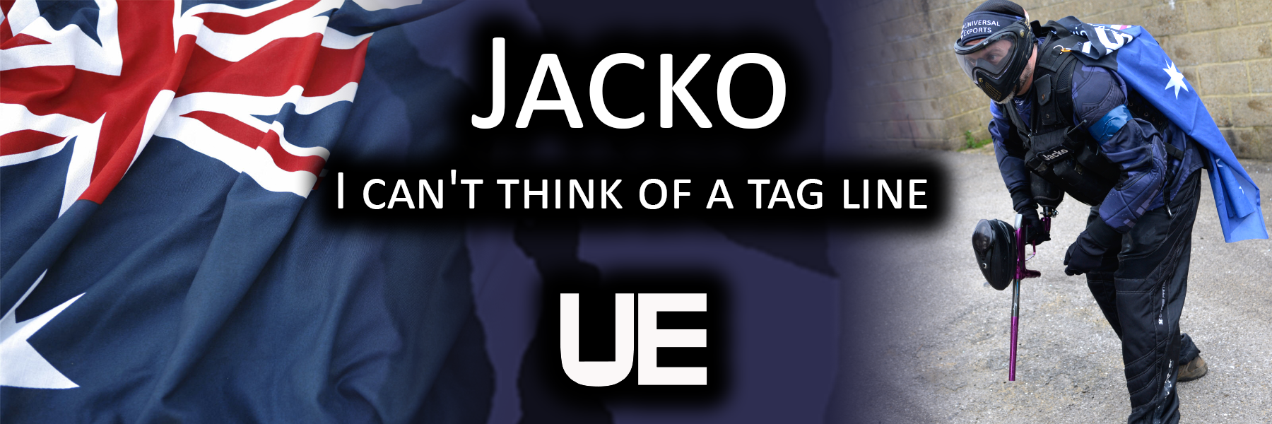 Jacko - I can't think of a tagline