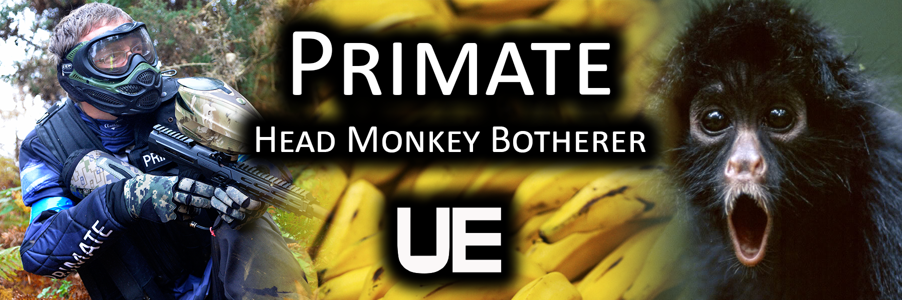 Primate - Head Monkey Botherer