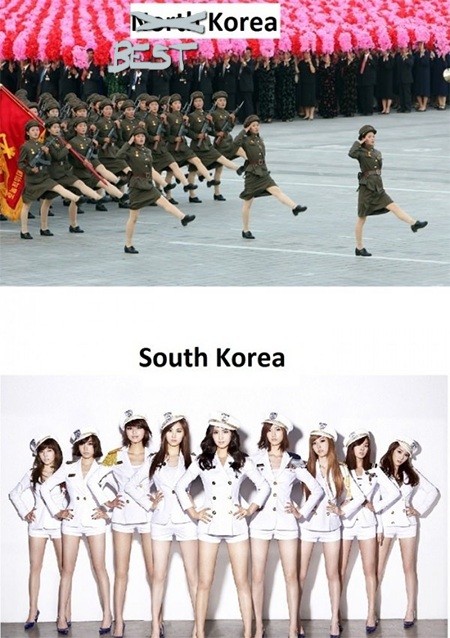 THE REAL North Versus South