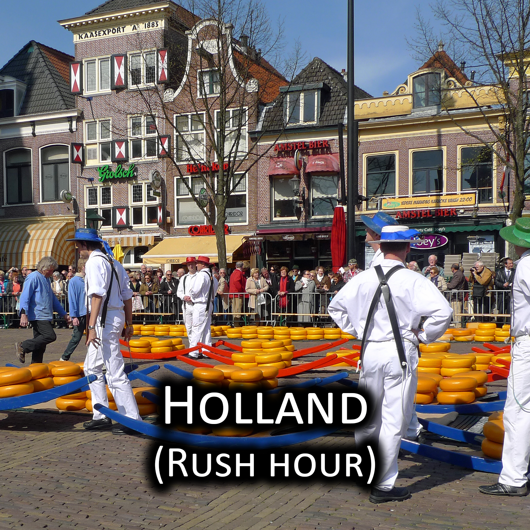 Holland at rush hour