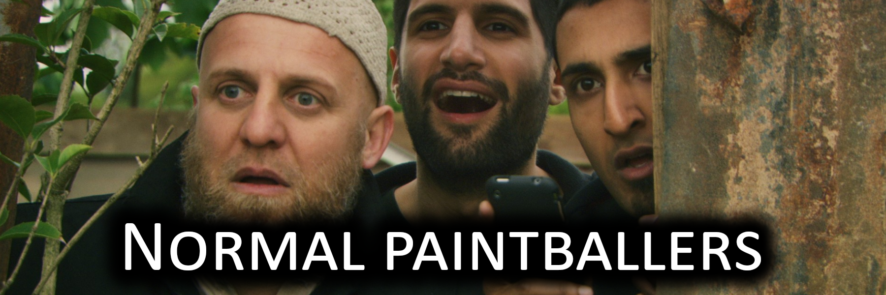 Normal paintball player