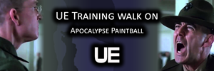 UE Training walk on at Apocalypse Paintball | 2017-04-06