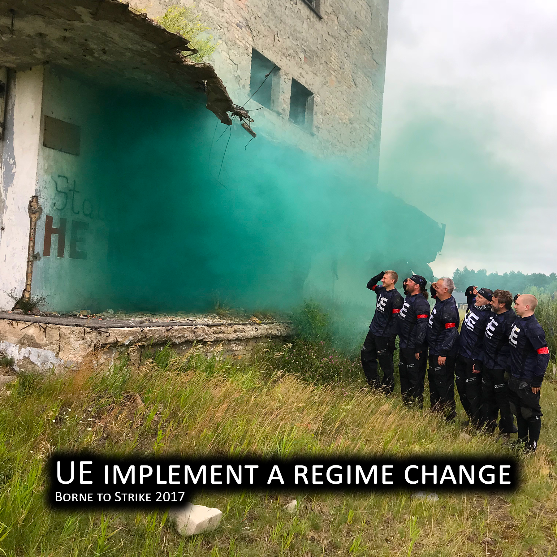 UE implement a regime change