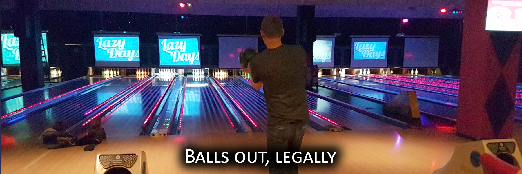 Balls out, legally