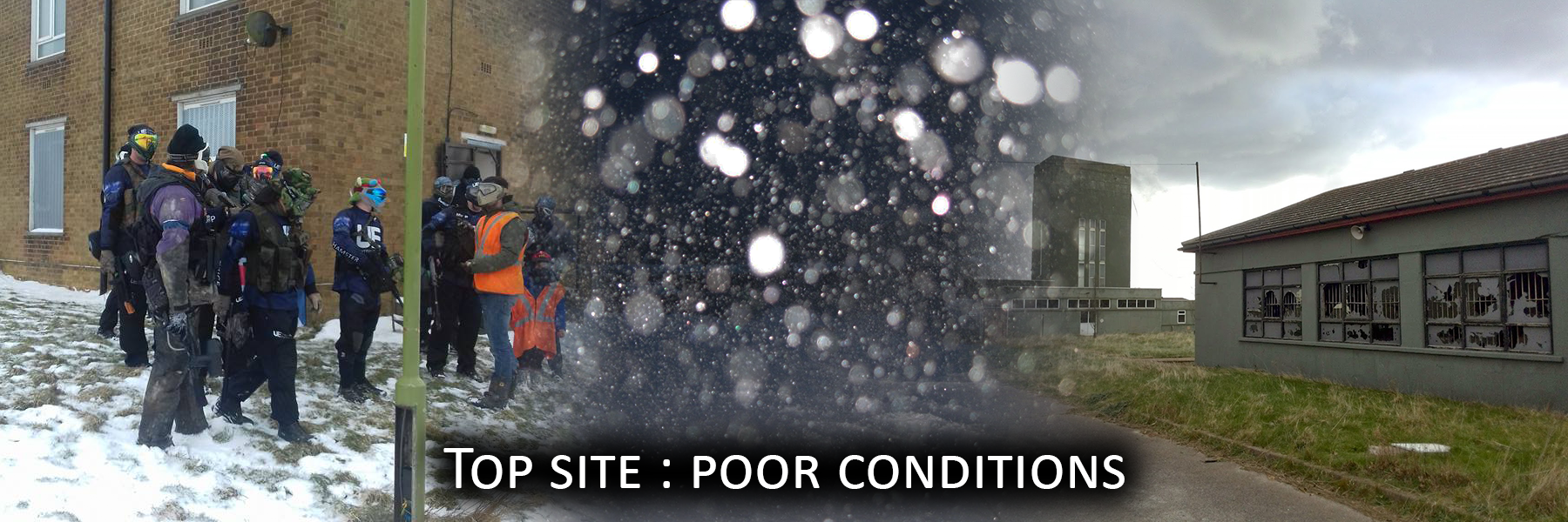 Top site : poor conditions