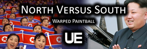 North versus South | Warped Paintball