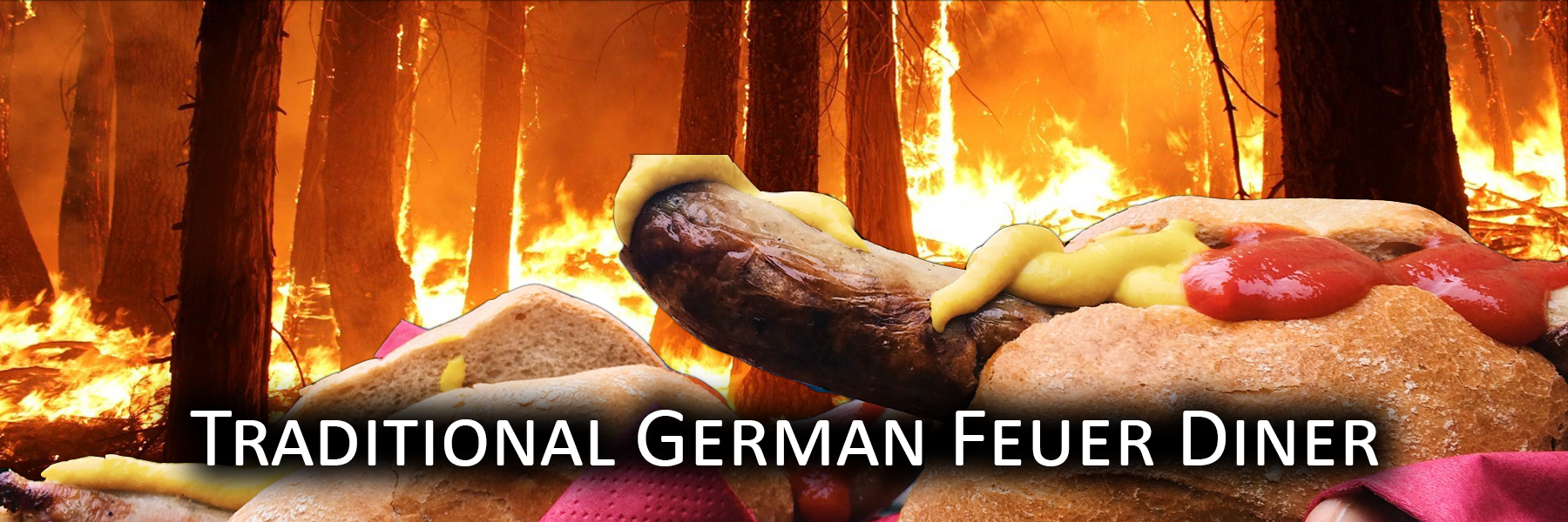 Traditional German Feuer Diner
