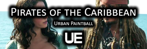 Pirates of the Caribbean | Urban Paintball
