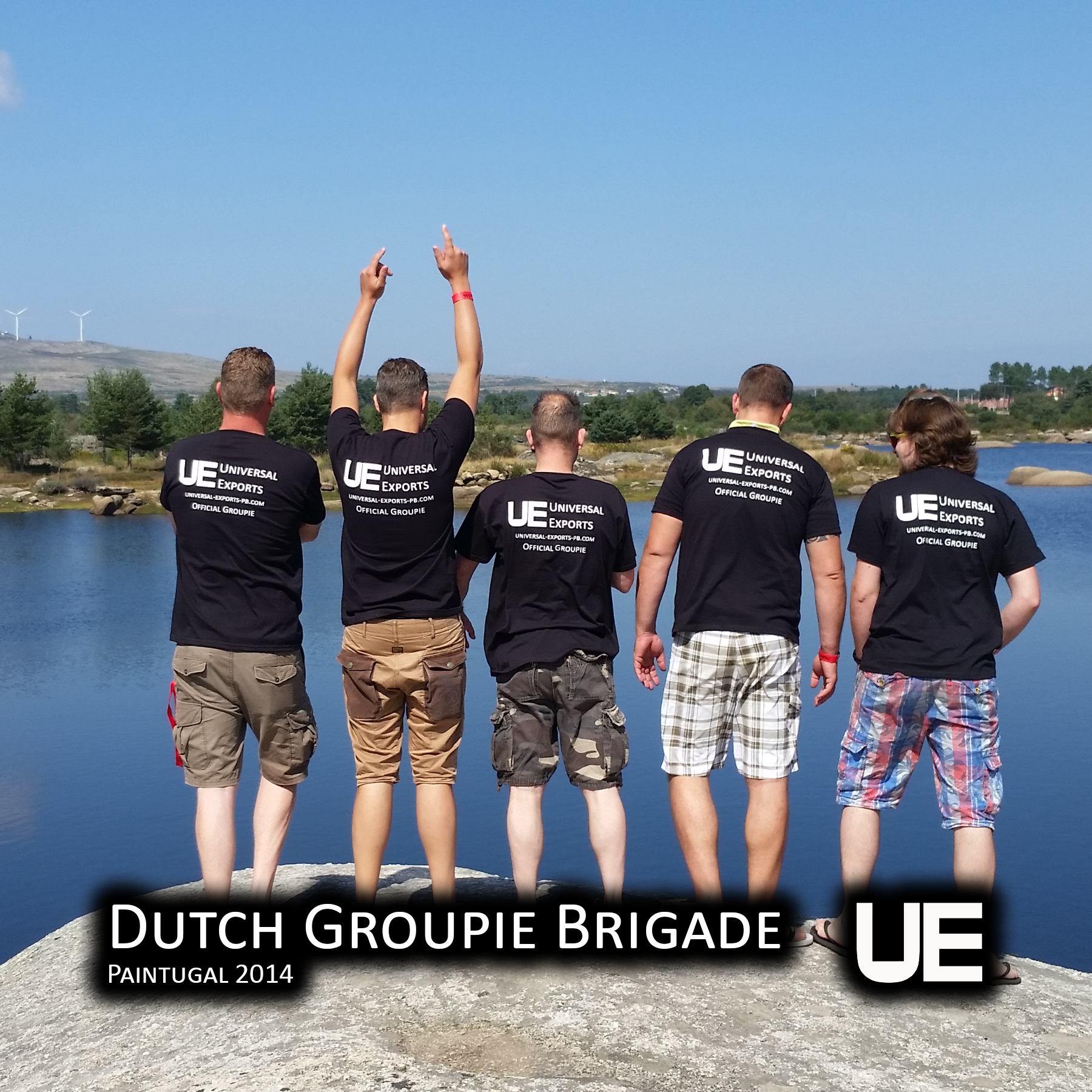 Dutch Groupie Brigade - Paintugal 2014