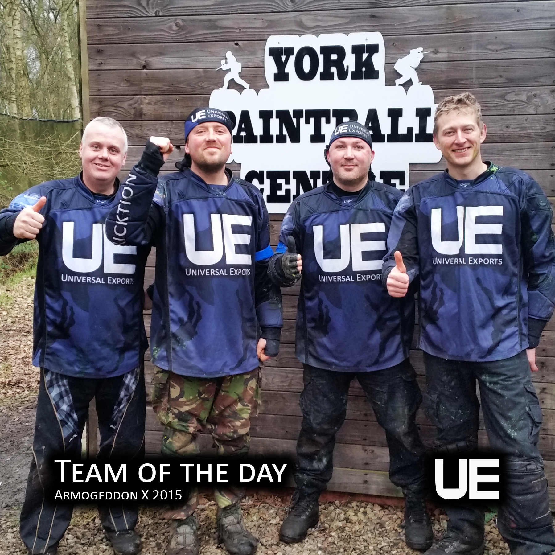 Armogeddon 2016 UE are Team of the Day